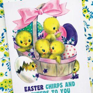 cute Easter card