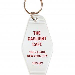 Gaslight Cafe key tag