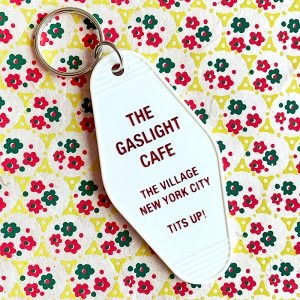 Gaslight Cake Key Tag