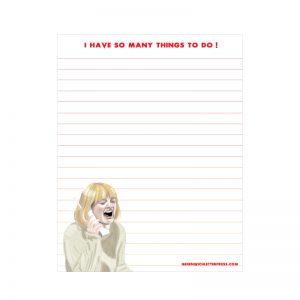 scream notepad