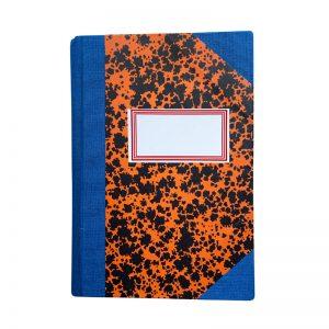 Emilio Braga Orange Notebook