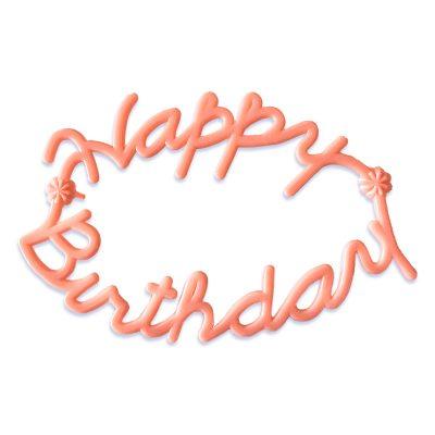 happy birthday cake pick